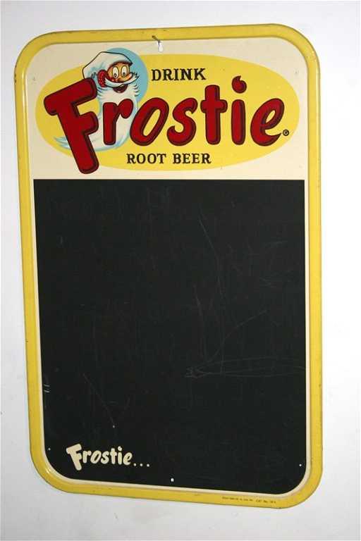 271 frostie root beer menu board