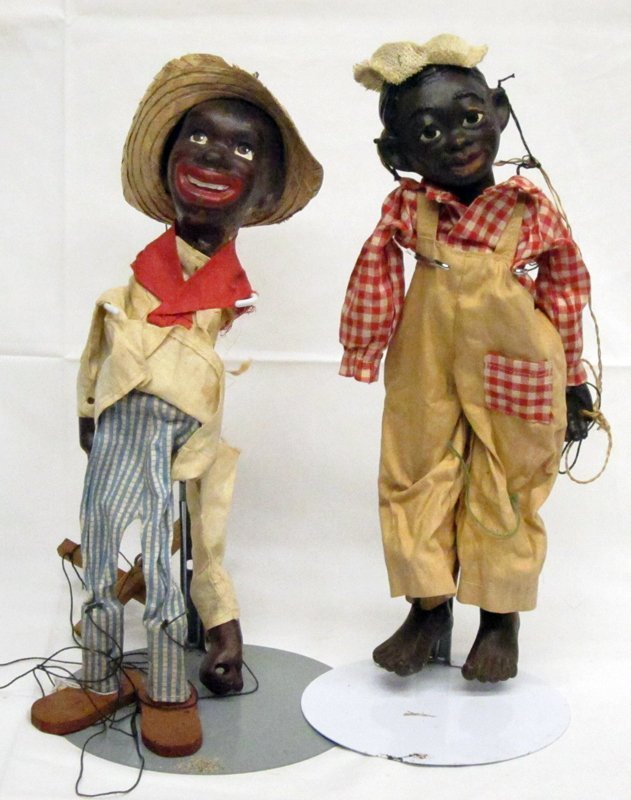 BLACK AMERICANA MARIONETTES (2)