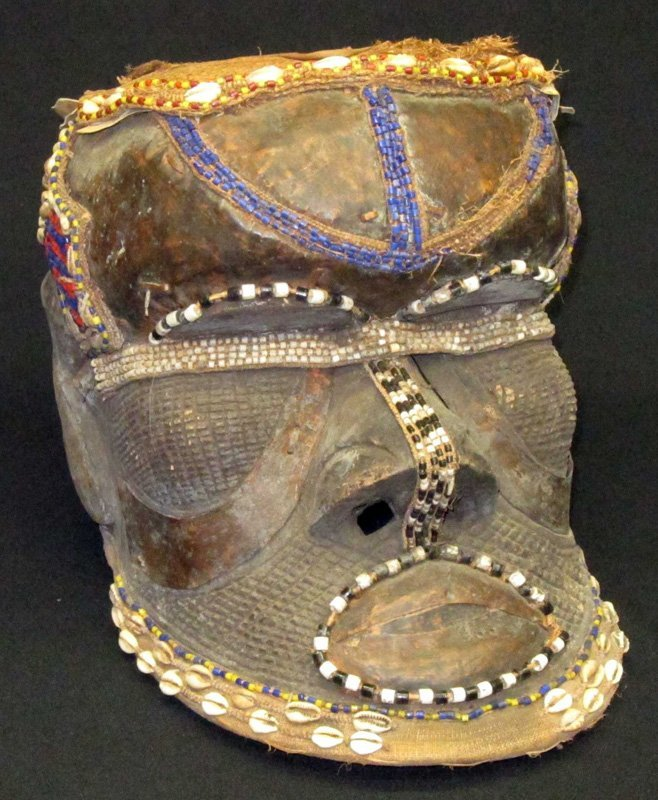 AFRICAN BWOOM KING'S MASK