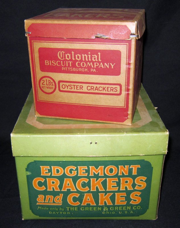 STORE CRACKER & CAKE BOXES (2)
