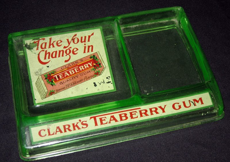 CLARK'S TEABERRY CHANGE TRAY