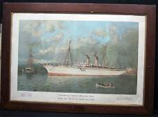 CANADIAN PACIFIC STEAMSHIP ADVERTISING POSTER