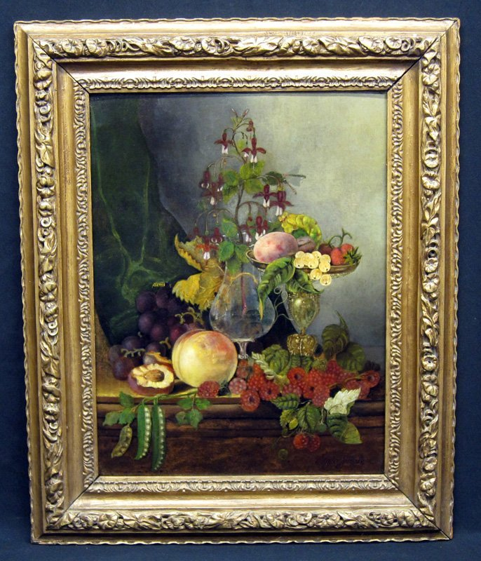 MARY J PEALE STILL LIFE PAINTING