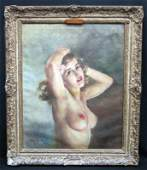 FRIED PAL NUDE PAINTING