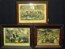 CURRIER  IVES ETC LITHOGRAPHS 5