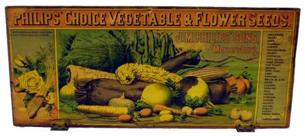5: PHILIP'S VEGETABLE AND FLOWER SEED BOX