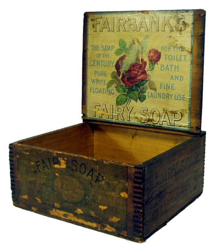 7: FAIRY SOAP SHIPPING CRATE