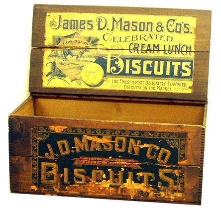10: MASON BISCUIT BOX