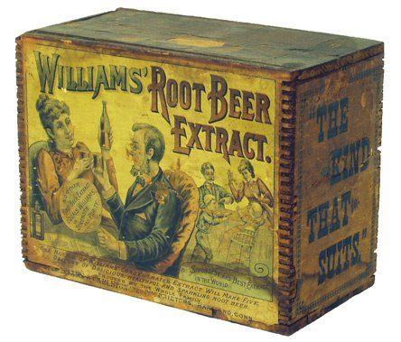 14: WILLIAM'S ROOT BEER EXTRACT BOX