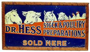 179: DR. HESS STOCK & POULTRY PREPARATIONS SIGN