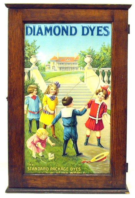 "265: ""JUMP ROPE"" DIAMOND DYE CABINET"