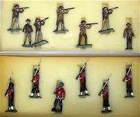 MARLBOROUGH MILITARY FIGURES 2 SETS
