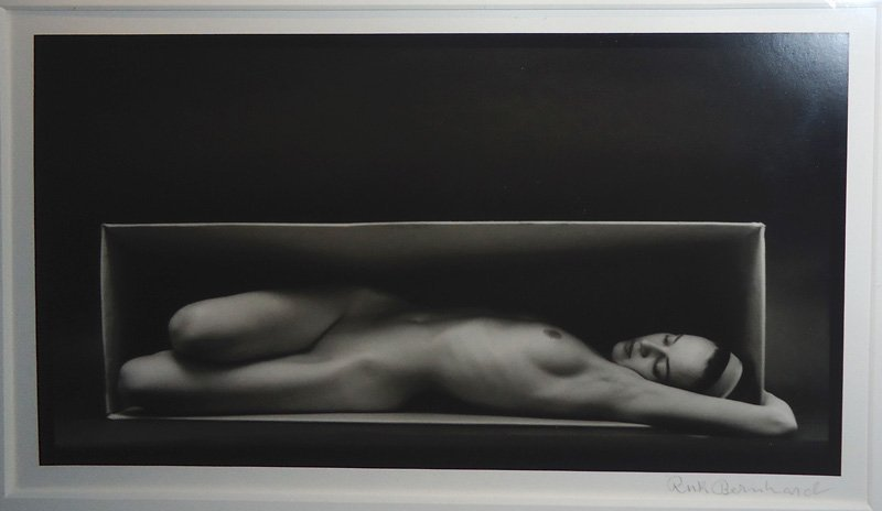 "RUTH BERNHARD PHOTO ""IN THE BOX"""