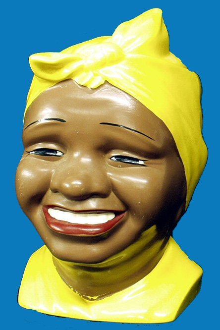 10: Black Americana CONTEMPORARY AUNT JEMIMA COOKIE JAR