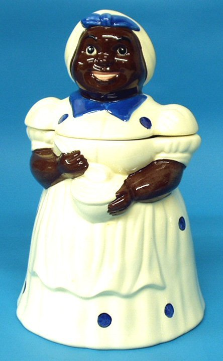 17: Black Americana METLOX 1980'S COOKIE JAR