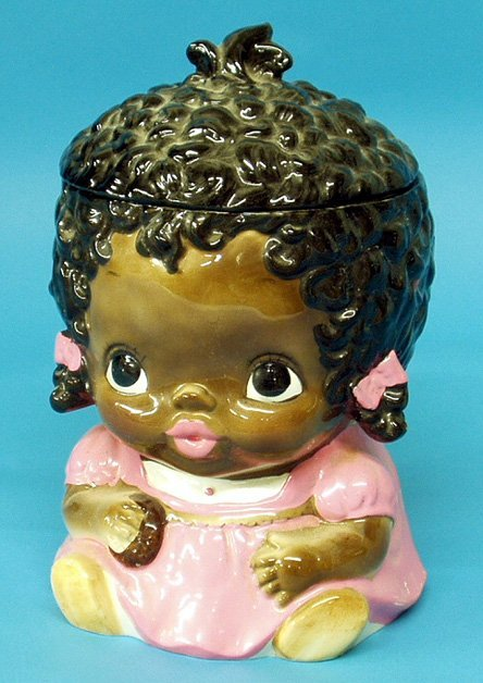 18: Black Americana SEARS & ROEBUCK LITTLE GIRL COOKIE