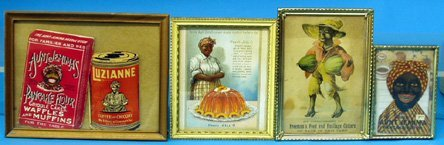 22: Black Americana 4 ADVERTISING  PIECES, AUNT JEMIMA,
