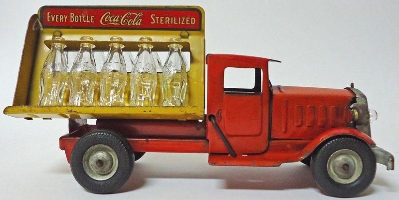 METAL CRAFT COCA-COLA TOY TRUCK 1933