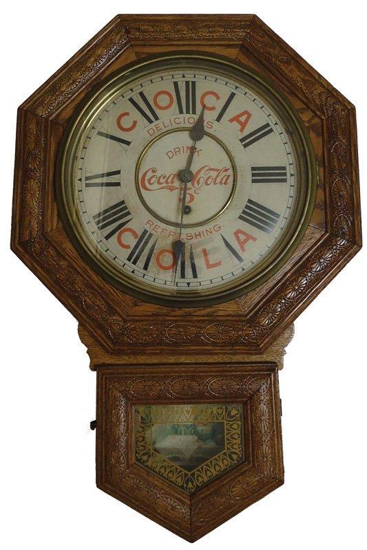 COCA-COLA REGULATOR CLOCK 1901