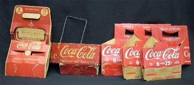 COCA-COLA SIX PACK CARRIERS