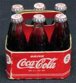 COCACOLA MINIATURE SIX PACK