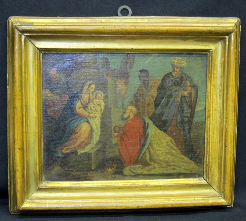 BIRTH OF CHRIST PAINTING