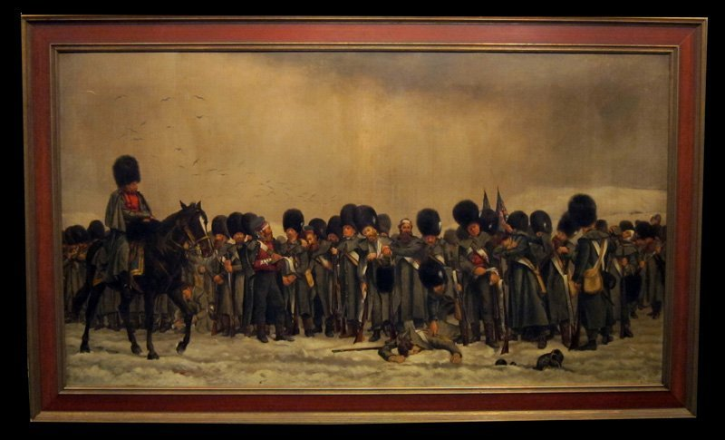 """""""THE ROLL CALL"""" PAINTING"""