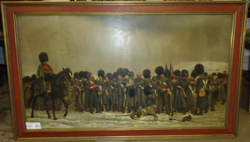 """""""THE ROLL CALL"""" PAINTING - 2"""