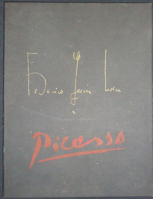 """PICASSO ILLUS. FEDERICO GARCIA LORCA """"CHANT FUNEBRE"""""""