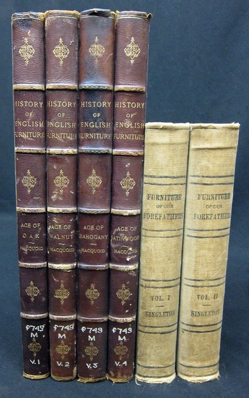 FURNITURE BOOKS - (2) SETS - 1905