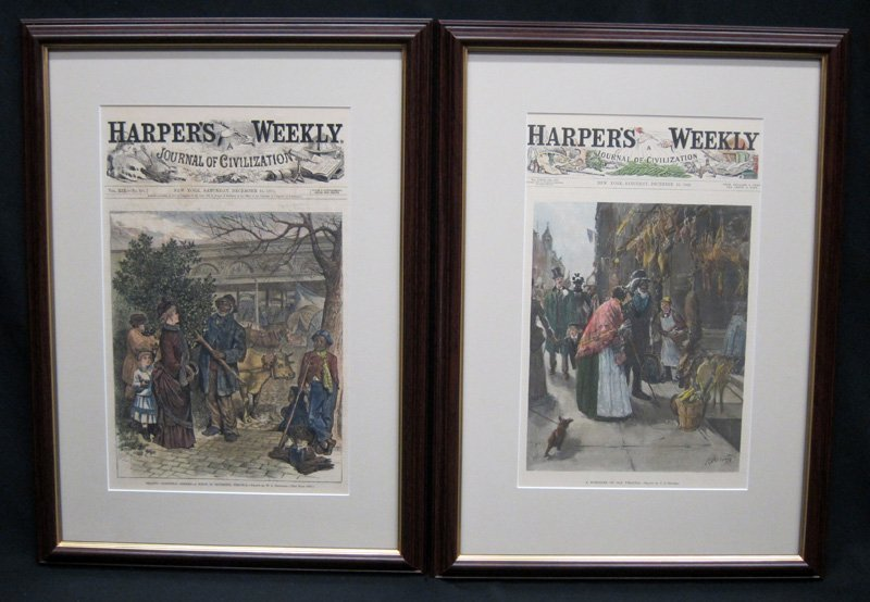 HARPERS WEEKLY COVERS 1879-1890
