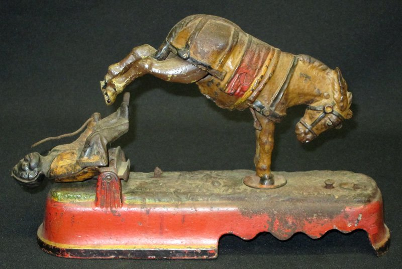 ALWAYS DID 'SPISE A MULE MECHANICAL BANK
