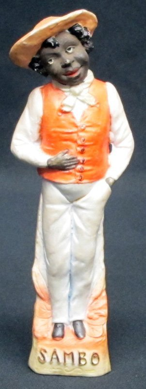"BISQUE ""SAMBO"" FIGURE"