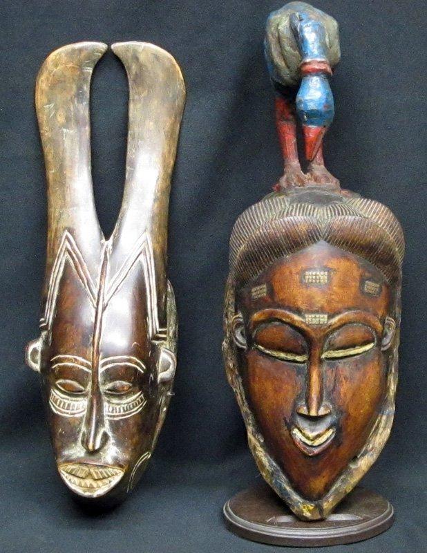 AFRICAN GURO MASKS (2)