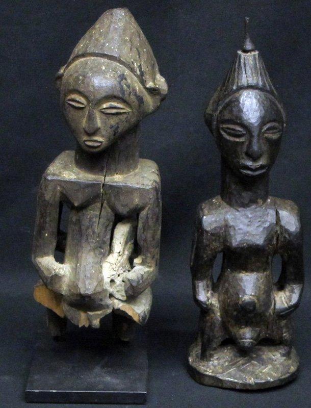 AFRICAN LUBA DOUBLE FIGURES (2)