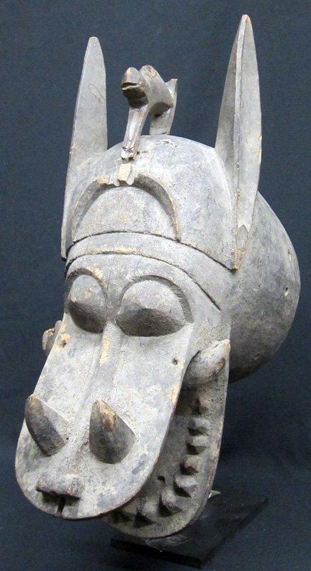 SENUFO HIPPO HEAD
