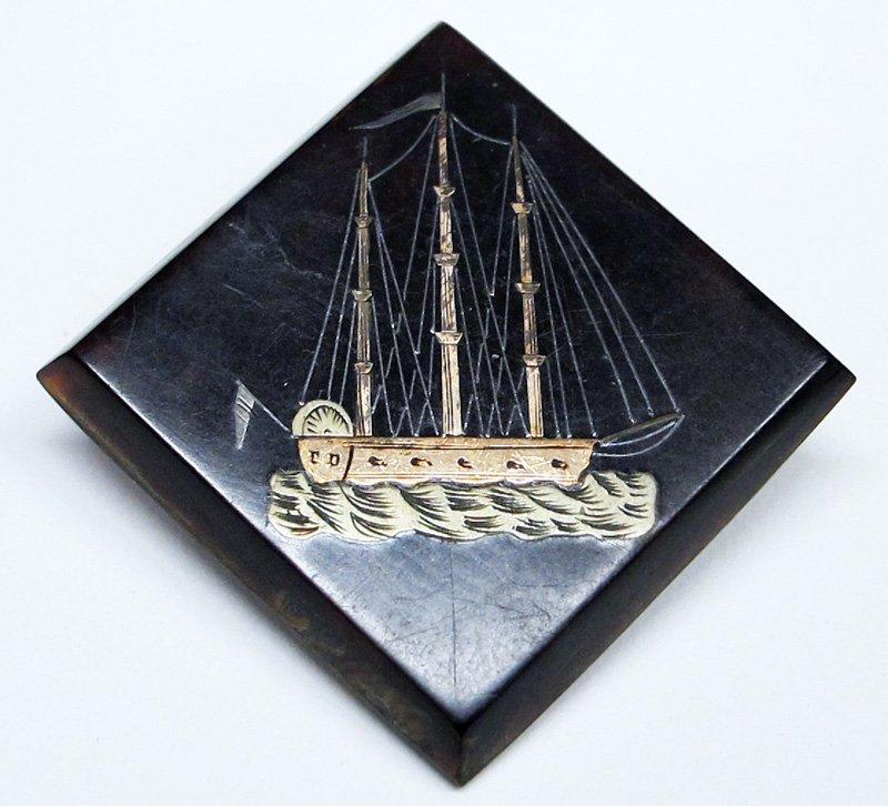 TORTOISE SHIP PIN