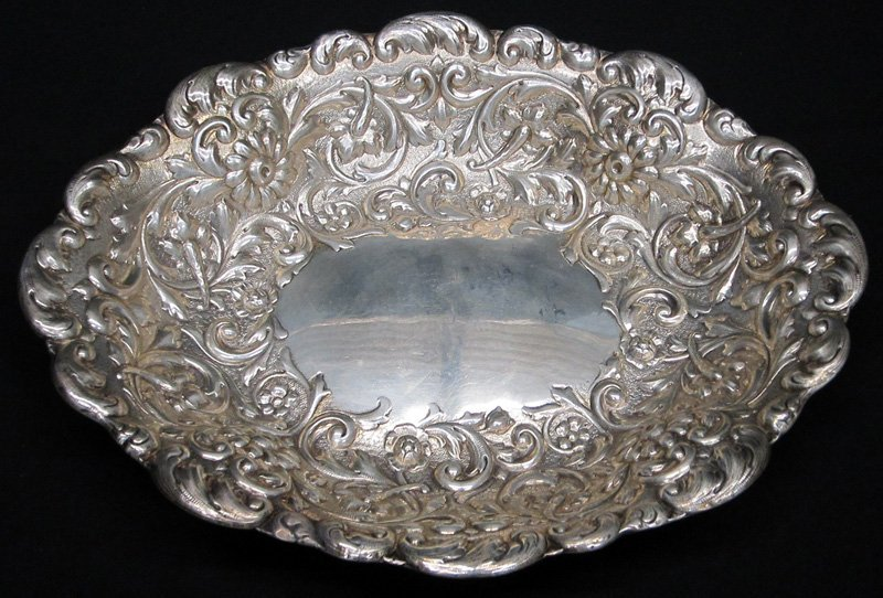 TIFFANY STERLING REPOUSSE BOWL