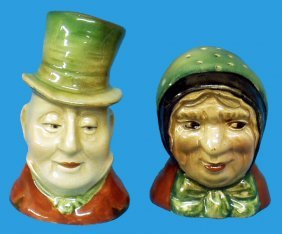3: BESWICK MR. MICAWBER SALT & SAIREY GAMP PEPPER