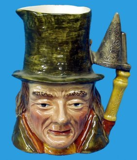 13: BESWICK LITTLE NELL'S GRANDFATHER CHARACTER JUG