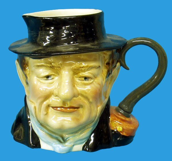 18: BESWICK CAPTAIN CUTTLE CHARACTER JUG #1120