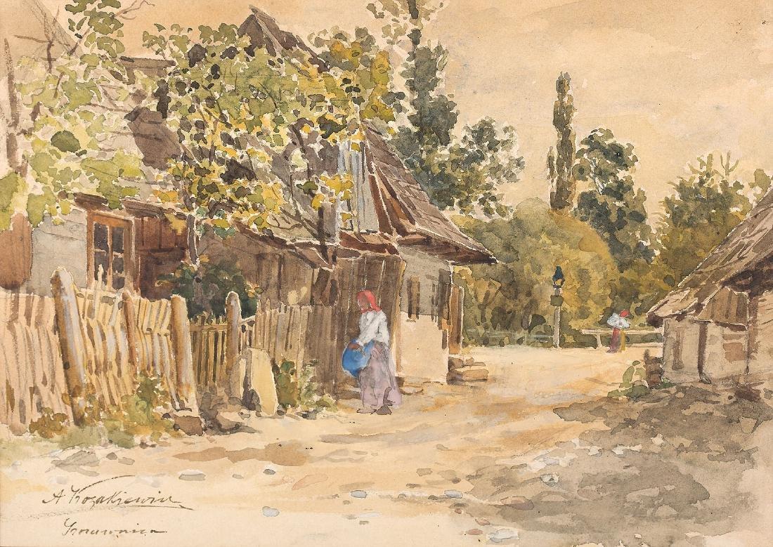 ANTONI KOZAKIEWICZ (1841 – 1929) - ON ROAD