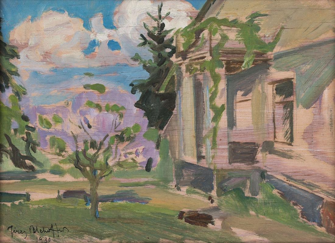 JÓZEF MEHOFFER (1869 – 1946) - THE SPRING, 1930