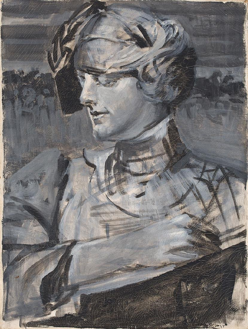 JACEK MALCZEWSKI (1854 – 1929) - PORTRAIT OF WOMAN,