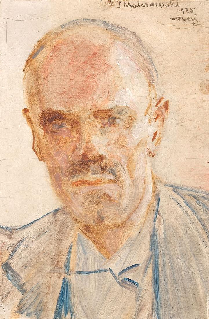 JACEK MALCZEWSKI (1854 – 1929) - PORTRAIT OF MAN, 1925