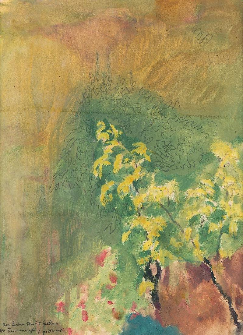 LEOPOLD GOTTLIEB (1883 – 1934) – VERNAL SHRUB