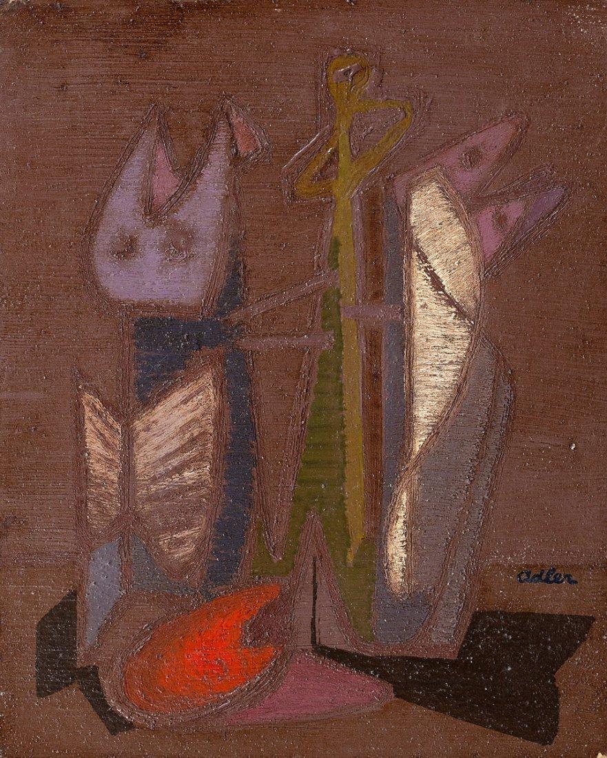 Adler Jankel, Still life, circa 1943
