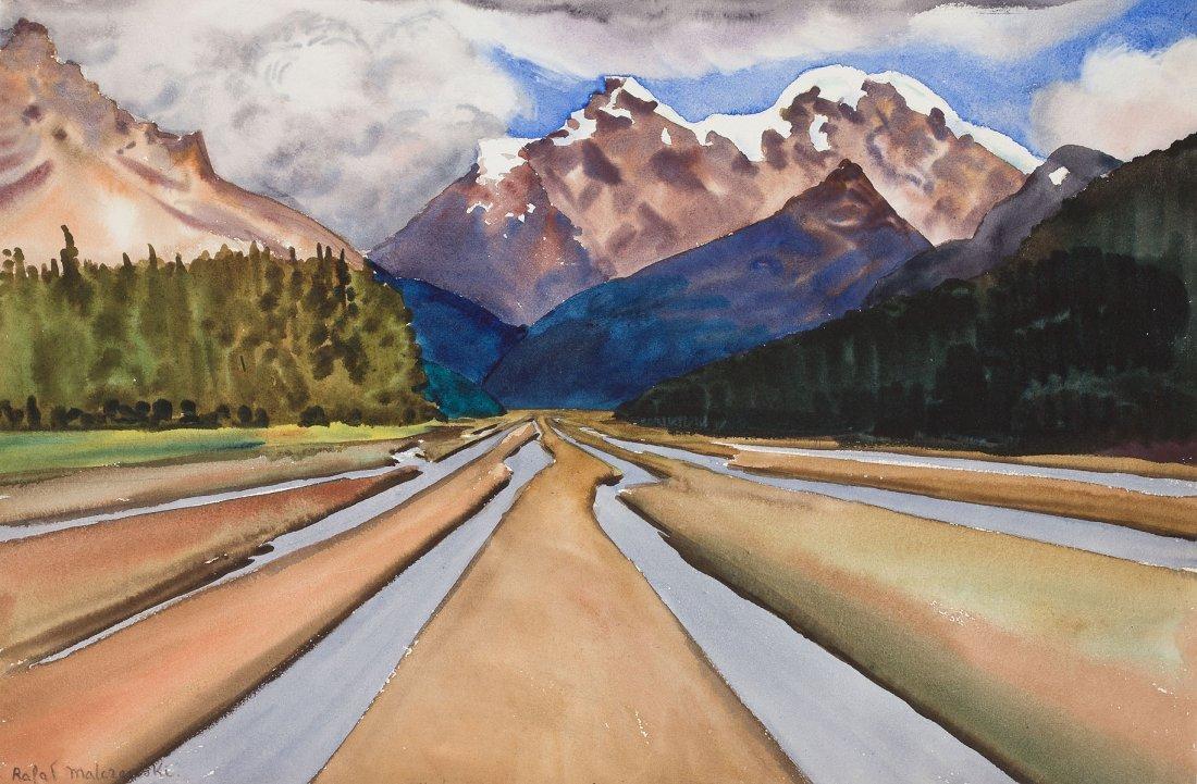 Malczewski Rafal, Mountain landscape