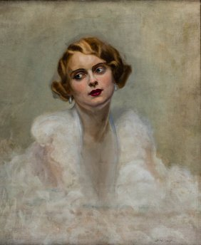 Portrait Of Janina Ry_, 1931