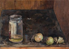 Still Life With Onions, 1962